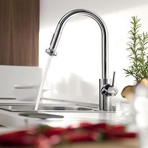 Hg Talis S 2 Kitchen Faucet With Pull Down 2 Sprayer