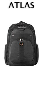 "EVERKI Atlas Laptop Backpack Checkpoint Friendly 17.3"""