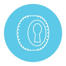 Locking Front Swivel Wheel icon