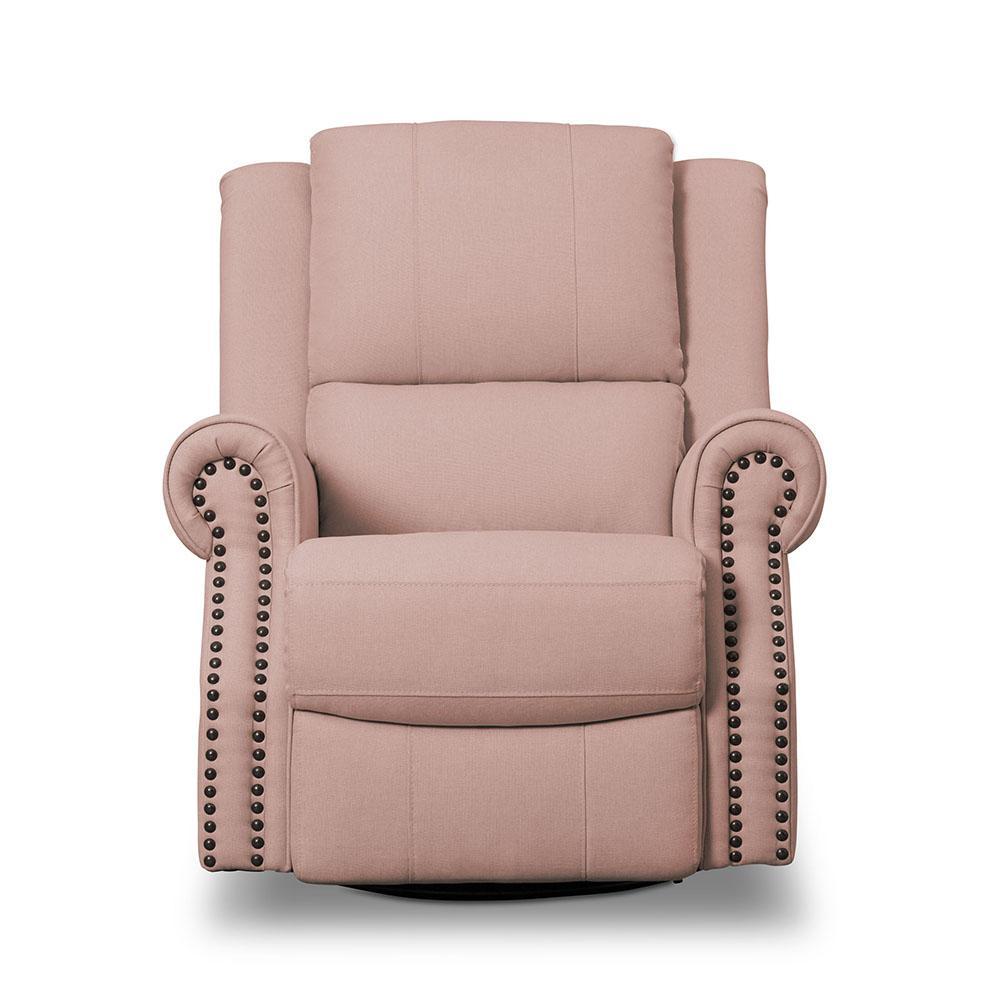 the latest d587b b5700 Delta Children Dylan Nursery Recliner Glider Swivel Chair, Flax
