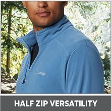 Half Zip Versatility