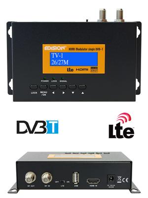Edision Hdmi Modulator Single Hdmi Auf Dvb T Schwarz Elektronik