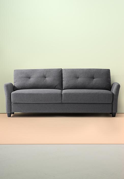 Amazon Com Zinus Ssmc Re Mikhail Mid Century Upholstered