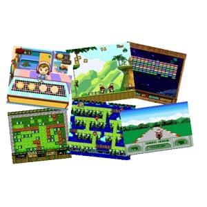 Lexibook jg7800 console de jeux plug n 39 play avec 300 jeux et 2 manettes multijoueur se - Console de jeux lexibook ...