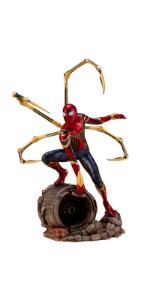 ARTFX+ Avengers: Infinity War アイアン・スパイダー -INFINITY WAR- 1/10スケール PVC製 塗装済み簡易組立フィギュア
