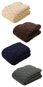 セブンデイズ SEVENDAYS シープ もこもこ もふもふ 発熱 あったか あたたかい 吸湿発熱 東京西川 西川 敷きパッド ベッドパッド 敷布団 敷き毛布 ベッドシーツ PM07002591