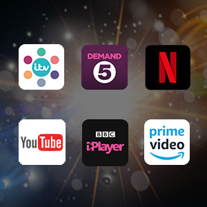preloaded apps netflix catch up youtube prime video demand 5 itv hub bbc iplayer