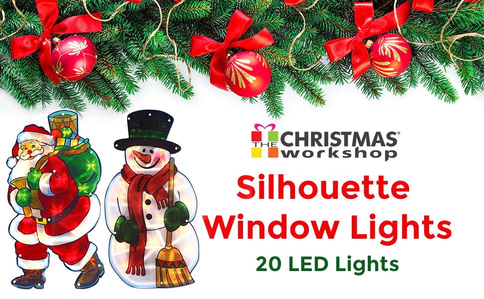 Silhouette Window LIghts