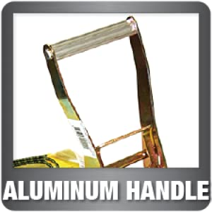 Ratchet tie down aluminum handle heavy duty durable