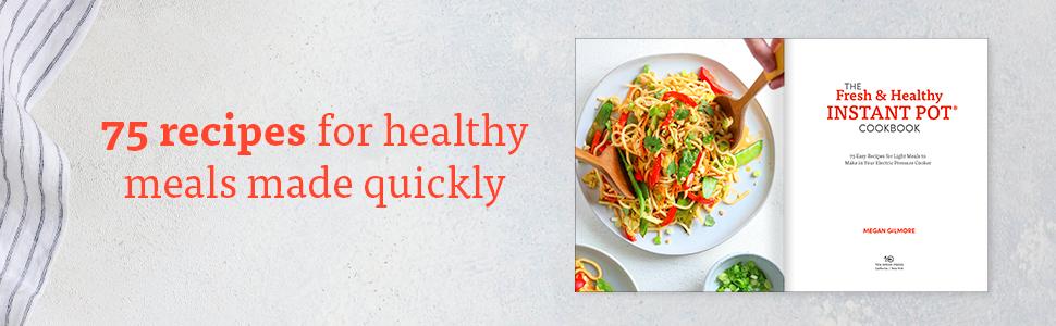 instant pot cookbook;fresh & healthy;instant pot;instant pot recipes;healthy cooking;family cooking