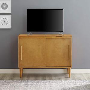 Amazon Com Crosley Furniture Everett Mid Century Modern