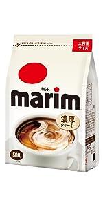 マリーム コーヒーミルク クリーミングパウダー インスタントコーヒー