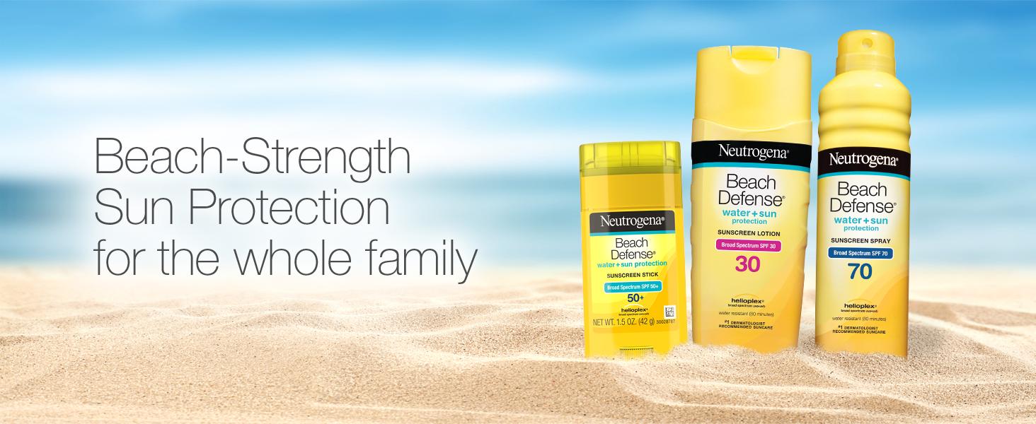 Beach Strength Sun Protection