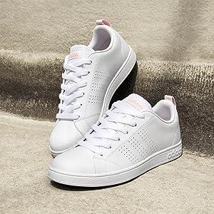 adidas white shoes women