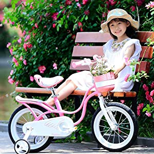 Little Swan Girl's Bike