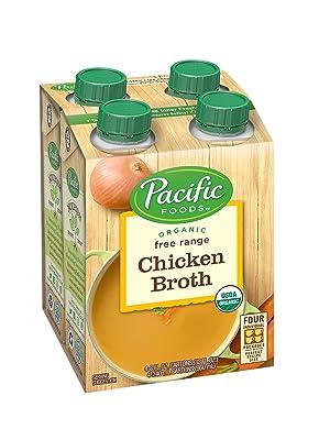 organic broth, chicken broth