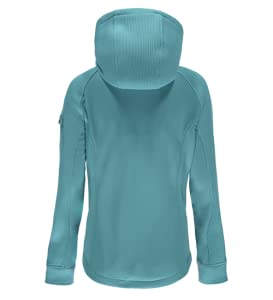 Body - Polyester Mid-Weight Sweater Knit Bonded to Anti-Pill Fleece.