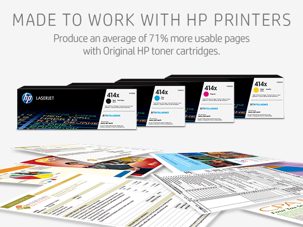black and white printing, color printing, reliable toner, page yield, HP toner replacement
