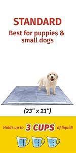 GLAD TRAINING PADS PET PUPPY DOG