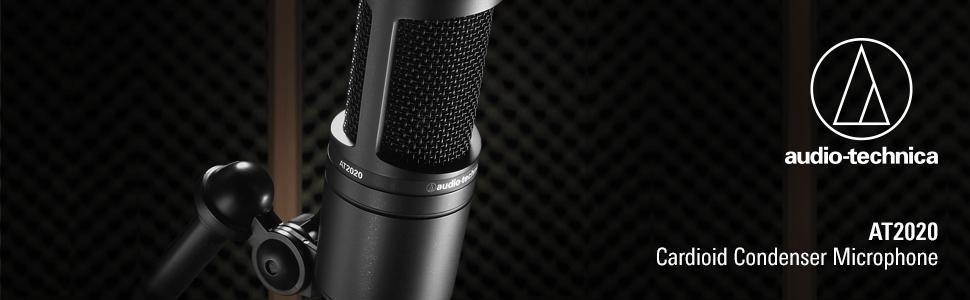 Audio-Technica AT2020 Cardioid Medium-diaphragm Condenser Microphone 4