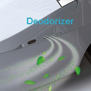 Automatic toilet deodorizer keeps your bathroom smelling fresh