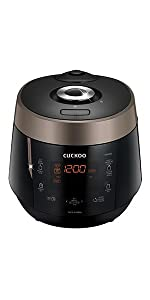 Cuckoo Electric Heating Pressure Rice Cooker CRP-P0609S (Black)
