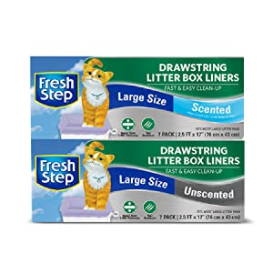 Fresh Step, Cleaning, Cat, Litter Box Liners