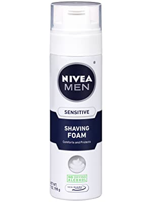 Nivea for men sensitive shave foam