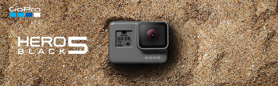 Pack GoPro Hero5 Black - Cámara deportiva 12 MP (4K, 1080p, WIFI + ...