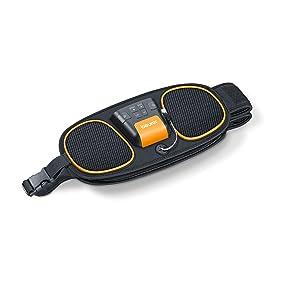 Beurer EM 39 Electroestimulador EMS Cinturón 2 en 1 abdominal + ...