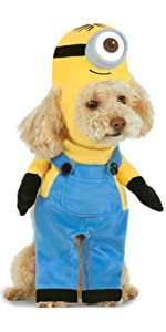 Amazon.com: Rubies Baby Minion Kevin Romper Costume, As ...