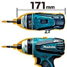 マキタ 充電式4モードインパクトドライバ TP131DRFX 14.4V 3.0Ah 青