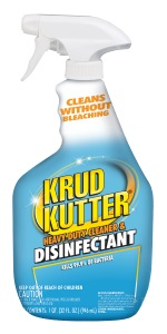 Krud Kutter Heavy Duty Bleach Free Disinfectant Cleaner Spray