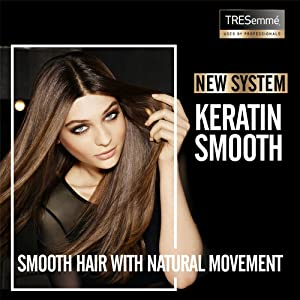 New System, Keratin Smooth, Smooth Hair with Natural Movement