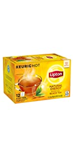 Lipton Natural Energy K-Cup