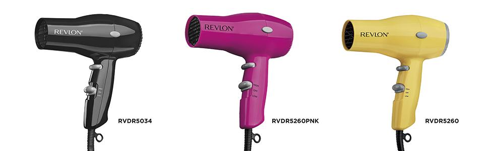 conair, remington, travel, travel hair dryer, travel hair dryers; RVDR5034; RVDR5260