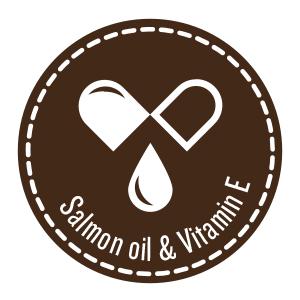 dynamo dog healthy skin shiny coat salmon daily natural support grain free soft chews baked usa