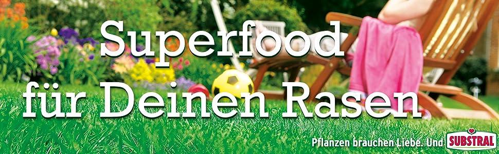 Superfood  für deinen Rasen