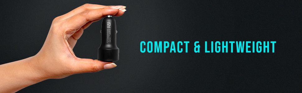 Compact, lightweight