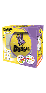 Dobble, Asmodee, Juego de cartas, Fun Fast Games, Zygomatic
