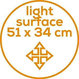 Abmessungen der Tageslichtlampe