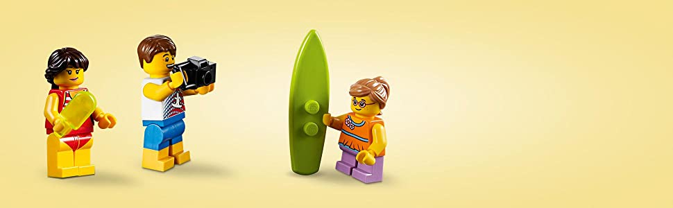 LEGO Creator - Aventuras en yate (31083): Amazon.es: Juguetes y juegos