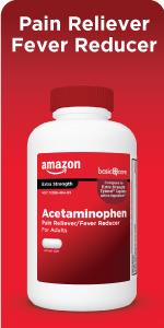 Amazon basic care acetaminophen