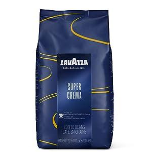 super crema, lavazza, espresso, coffee