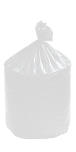 """36 x 58"""" 55 Gallon Clear Industrial Trash Liner"""