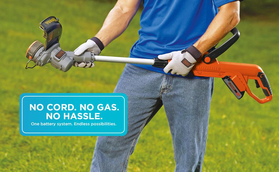 No Cord. No Gas. No Hassle.