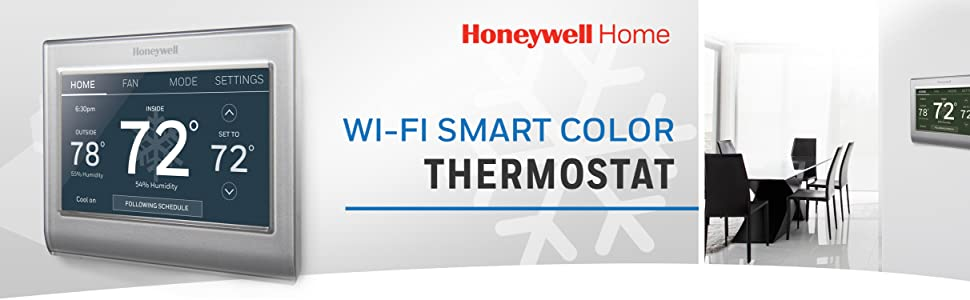 985, wifi, smart color, smart thermostat