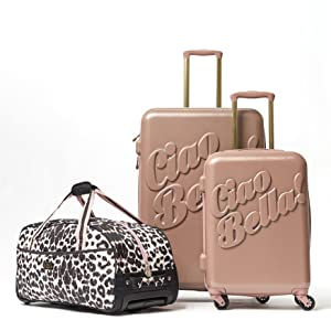 Amazon.com  Macbeth Collection Women s 21 inch Luggage 2aaf9c7ac53f3