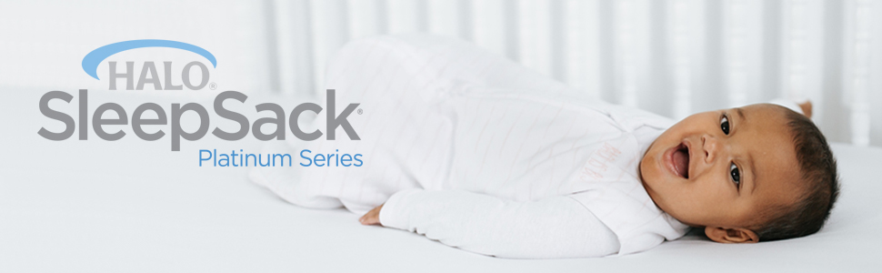 caf189d02f Amazon.com  100% Cotton Sleepsack Wearable Blanket Platinum Series ...