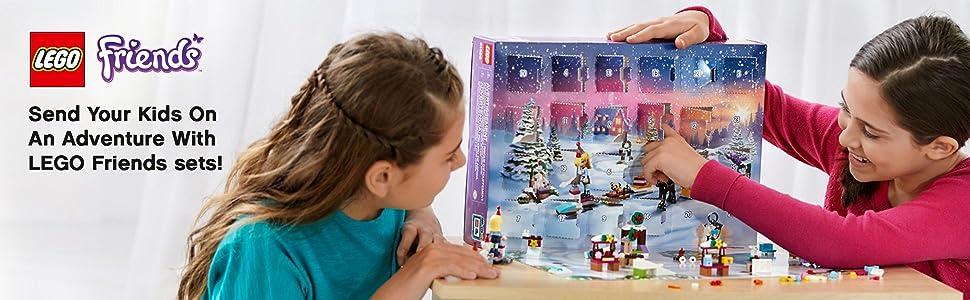 LEGO, building, Interactive play, Friends, Advent Calendar , Stephanie, animals, Girls, Christmas